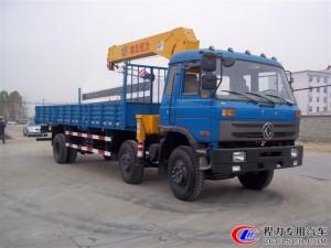 东风10吨随车起重运输车价格