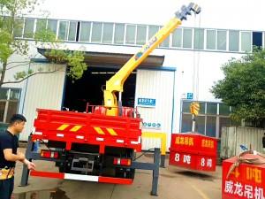 东风6.3吨随车吊单桥