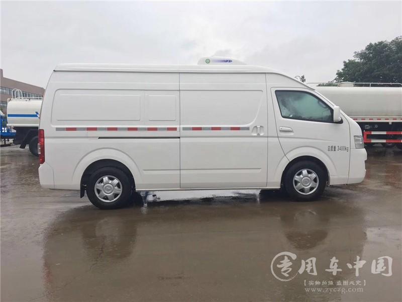 福田G9面包冷藏车
