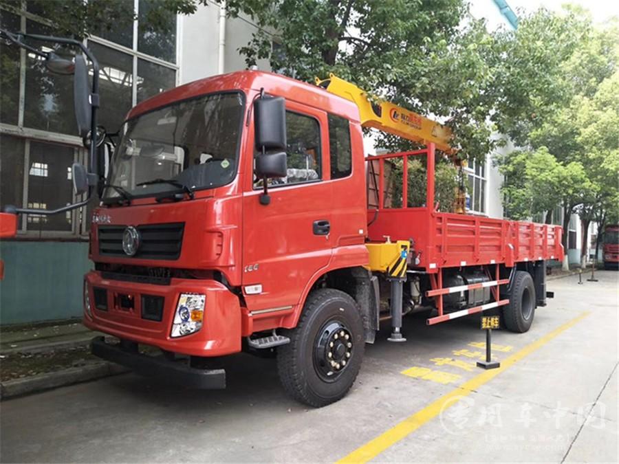程力吊机-8吨东风多利卡D9随车吊(国六)已上线