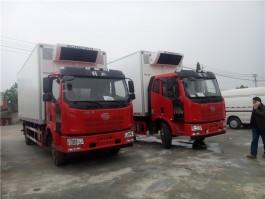 解放J6L 7.6米冷藏车