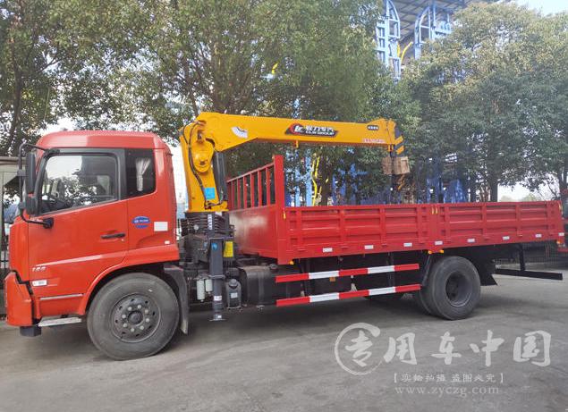 东风天锦程力6.3吨随车吊图片