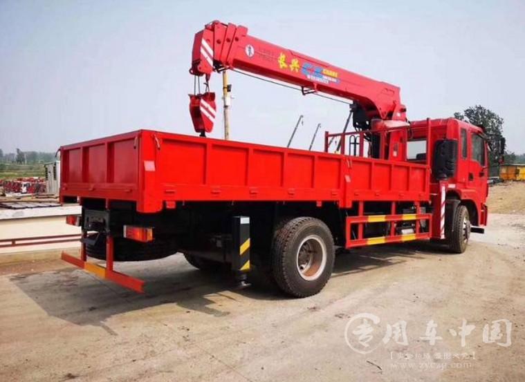 东风锦程单桥8吨随车吊图片