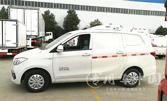 福田IX5面包型冷藏车图片