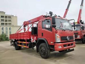 东风华神长兴6.3吨随车吊带自卸
