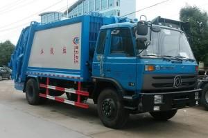 东风8方压缩垃圾车图片及详情介绍