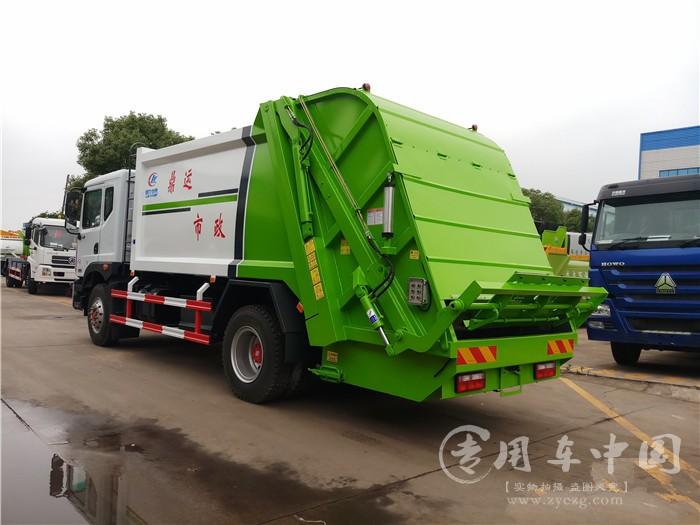 东风D9 12方后装压缩式垃圾车