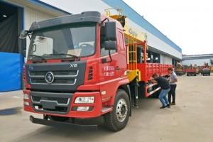 陕汽轩德X6后八轮12吨随车起重运输车价格¥323000元