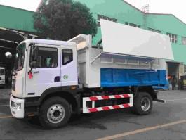 东风D9 12方自卸式垃圾车
