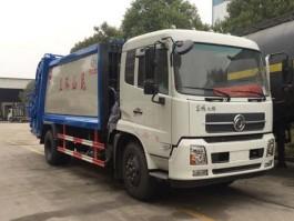 东风天锦12方环卫垃圾车
