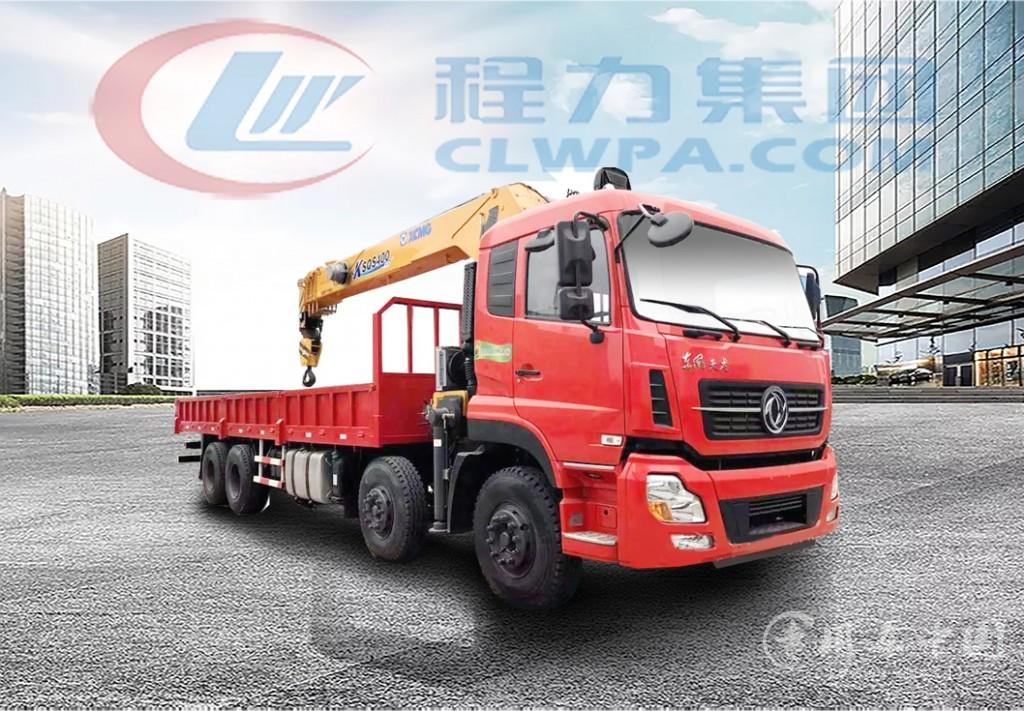 东风天龙前四后八12吨-16吨随车吊价格表(高清图片)