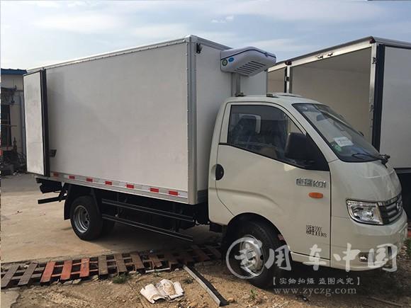 程力国六小型冷藏车