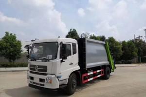 东风天锦12方压缩式垃圾车详细资料