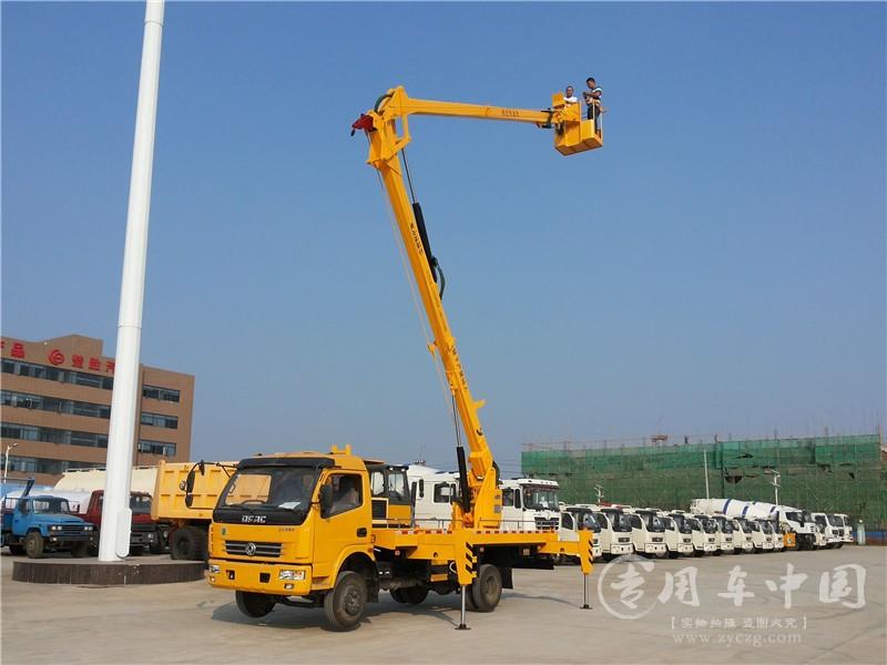 东风多利卡18米曲臂式高空作业车图片
