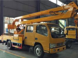 东风曲臂式高空作业车