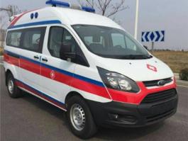 福特V362新全顺转运型救护车