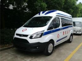 福特V362新全顺监护型救护车
