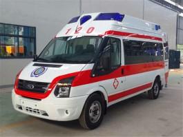 全顺V348高顶运输型救护车(柴油)