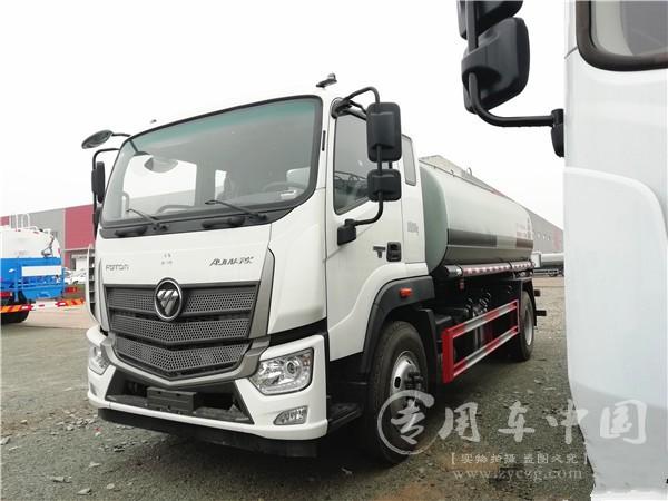 福田欧马可S5国六12方喷药车新产品介绍