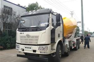一汽解放12方混凝土搅拌车价格¥37.3万元