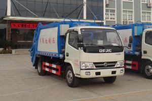 极力推荐小区物业专用东风多利卡压缩式垃圾车价格¥13.6万