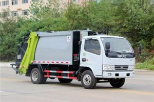 湖北程力压缩式垃圾车厂家促销热卖价格¥13.4万元