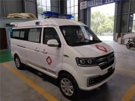 国六金杯小海狮S小型转运型救护车