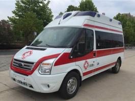 福特V348新世代转运型救护车