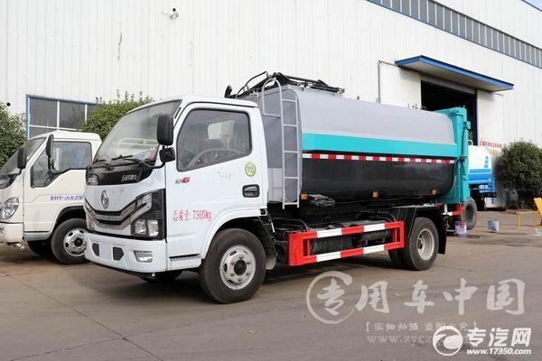 东风多利卡D6国六自装卸式垃圾车主要参数