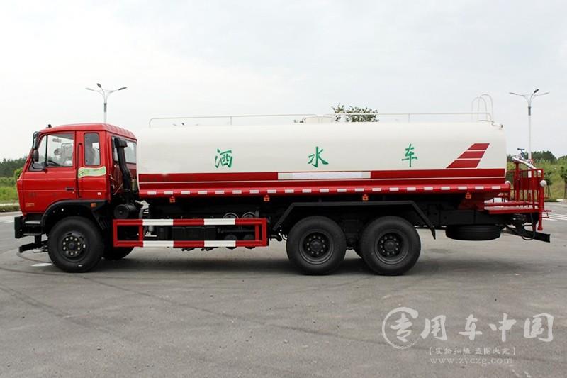 二手东风18吨工地洒水车