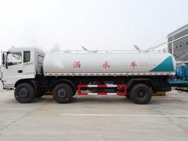 二手东风小三轴20吨洒水车