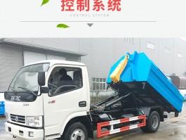 东风8方钩臂垃圾车