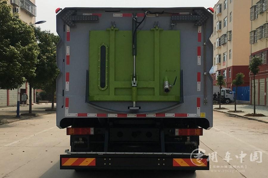 国六东风天锦16方洗扫车