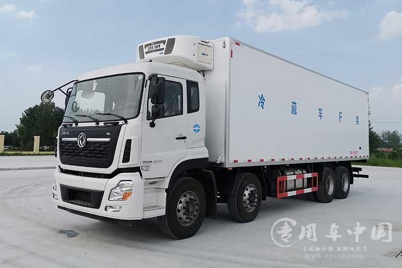 东风天龙前四后八9.6米冷藏车价格¥399000元