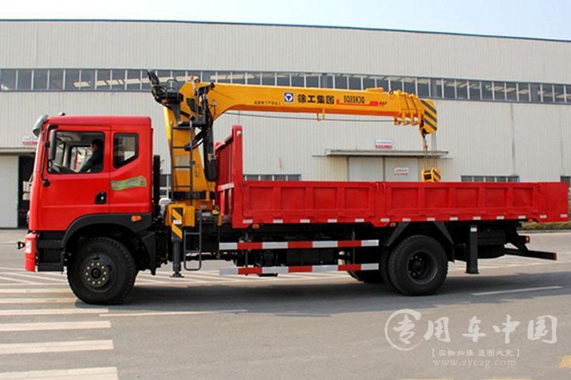 东风6.3吨徐工随车起重运输车图片2