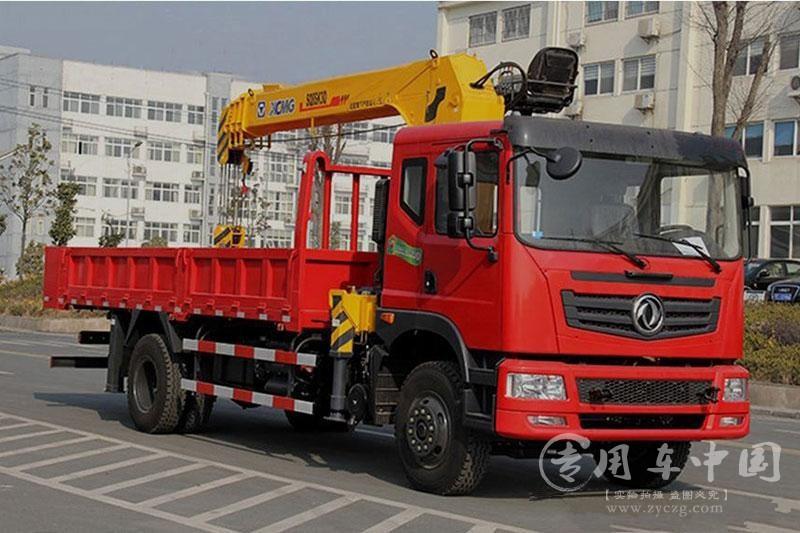 东风6.3吨徐工随车起重运输车图片3