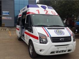 江铃新世代V348长轴救护车【运输型|