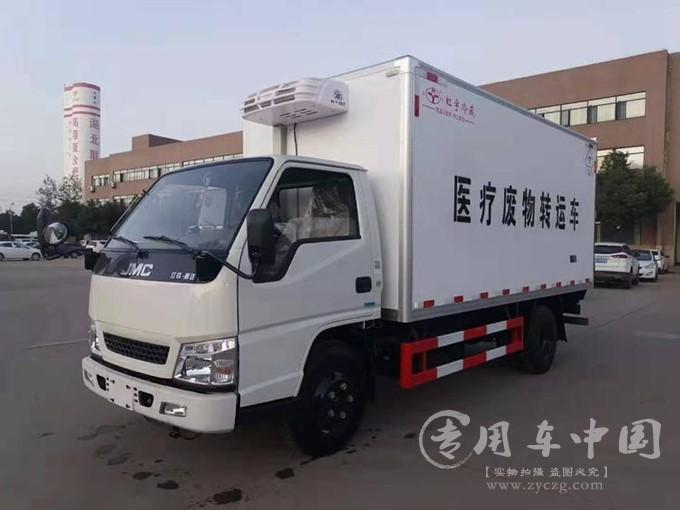 程力医疗废物运输车厂家价格优惠销售