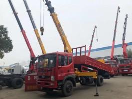 东风6.3吨随车吊带自卸