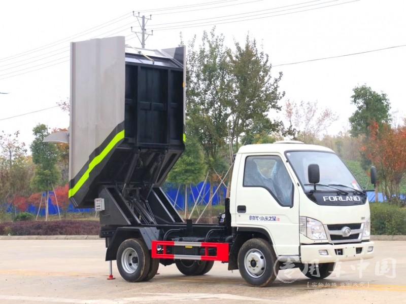 福田小卡之星蓝牌后挂桶无泄露压缩垃圾车价格¥108000元