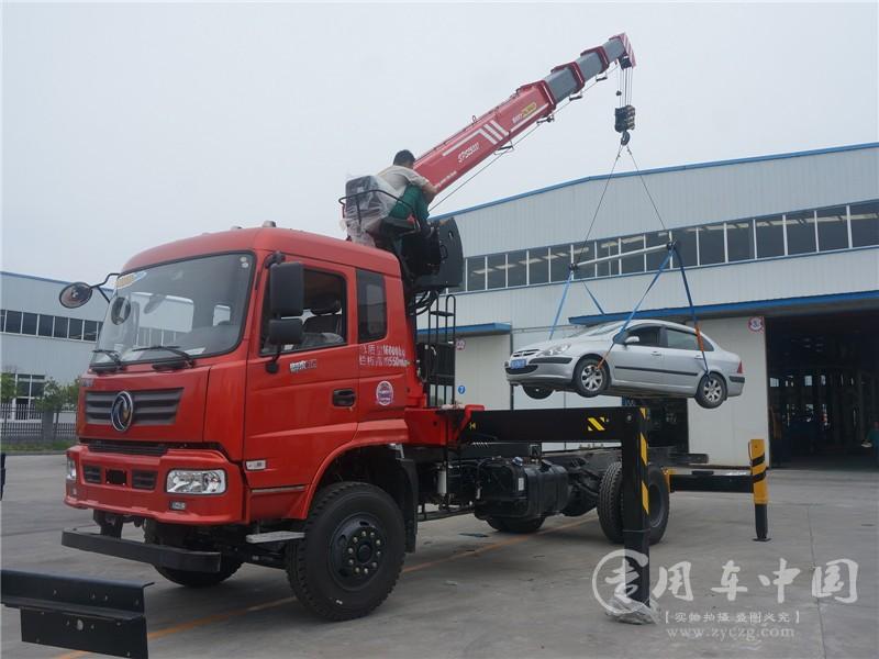 单桥三一10吨东风随车吊价格¥329000元