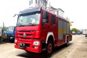 重汽救援消防车价格¥475000元