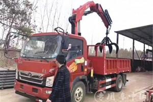 5吨随车吊带抓具指导价:¥17.4-29.9万