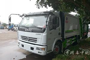 环卫压缩垃圾车价格表:¥11.3-29.9万