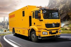 德龙新M3000大流量排水抢险车,抢险救援还看他
