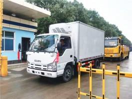 庆铃五十铃冷藏车︱4.2米冷藏车厂家