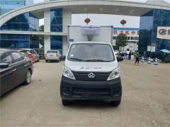 安徽客户提长安2.8米小小型冷藏车