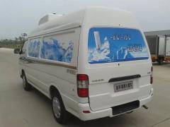 河南开封医疗公司提金杯海狮面包冷藏车