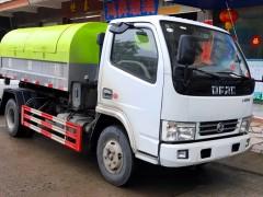 广东用户订购5方车厢可卸式垃圾车顺利交车
