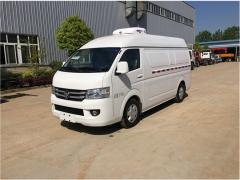 福田G7疫苗药品专用冷藏车准备发车